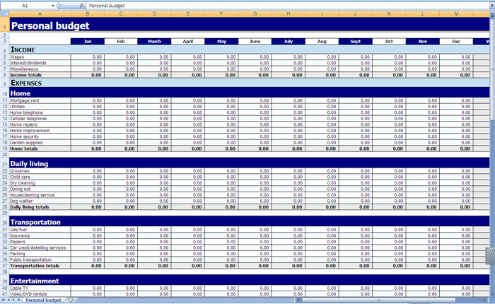 Sheet template together with cash flow statement indirect method