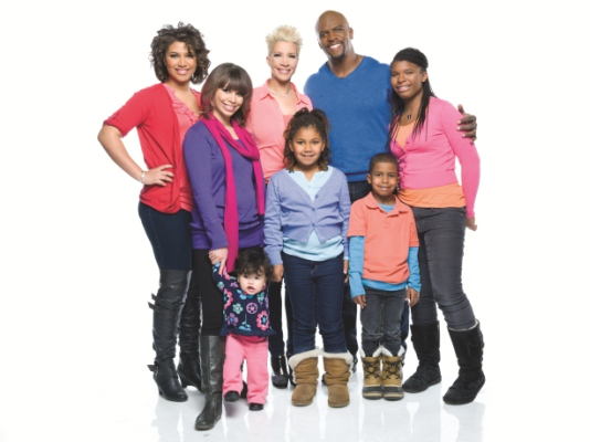 Terry Crews Back for 2nd Season of    The Family Crews    on BETCrews Rebecca Kids