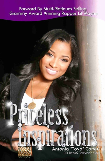 toya carter bob. toya priceless book