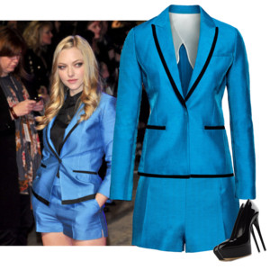 hm blue suit