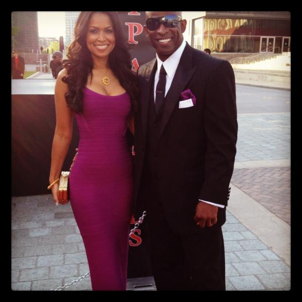 Tracey Edmonds & Deion Sanders @ TD Jakes 35th Anniversary
