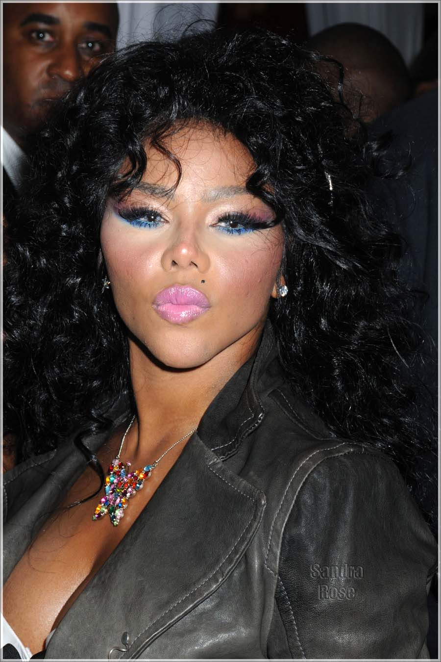 Lil Kim hosts the grand opening of La Scala Boutique in Harlem, NYC
