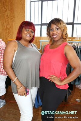 Ms Bels (Stacks Mag) & Nicole Garner (The Garner Circle)