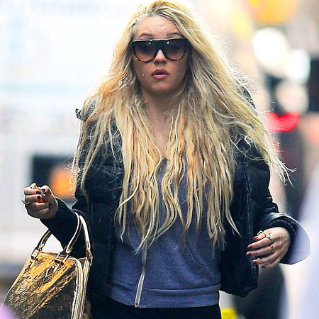 Amanda Bynes out and about in New York, America - 08 Apr 2013