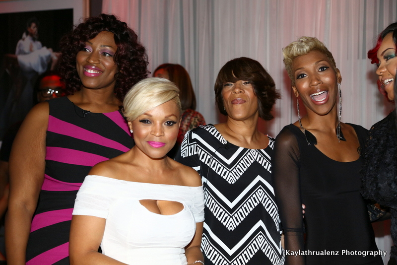 "Gocha Hawkins & ""Pretty In Pink"" honorees"