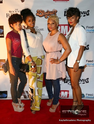 Kayla Freeman, Kash Howard, Gocha, & Crystal Renee