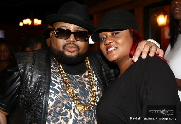 Jazze Pha (Shonuff Digital Media) & Ms. Bels (owner, STACKS Mag)