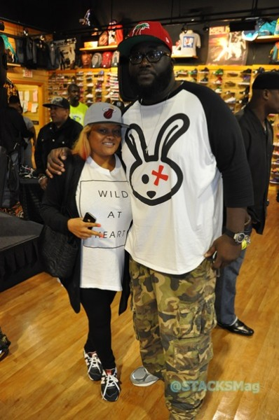 Ms. Bels (Owner, STACKS Mag) & Mike Smoak (Marketing Dir., DTLR)