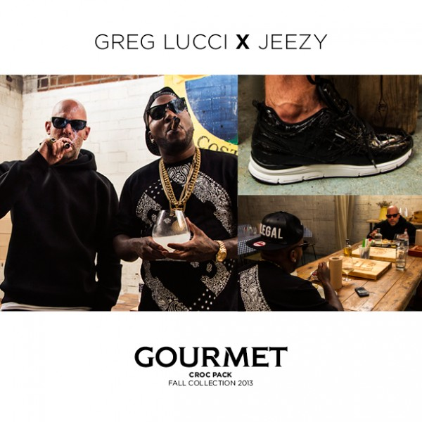 Gourmet Croc Pack, featuring Cinque 2 LXL and 35 Lite MP - Jeezy and Greg Lucci