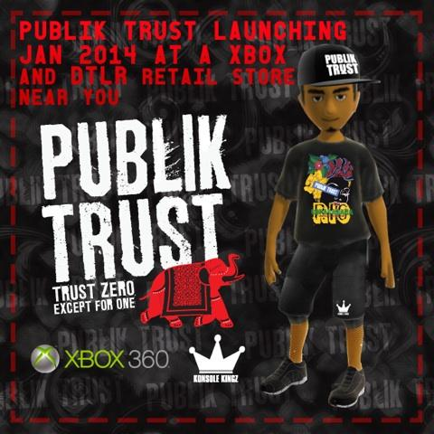 Publik Trust and Xbox Boutique, Ultrafresh