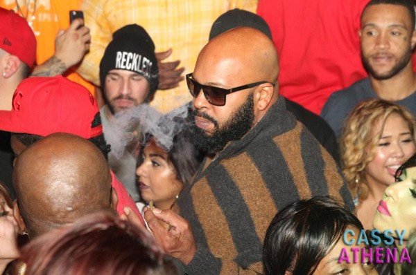 Suge Knight Smoking Weed