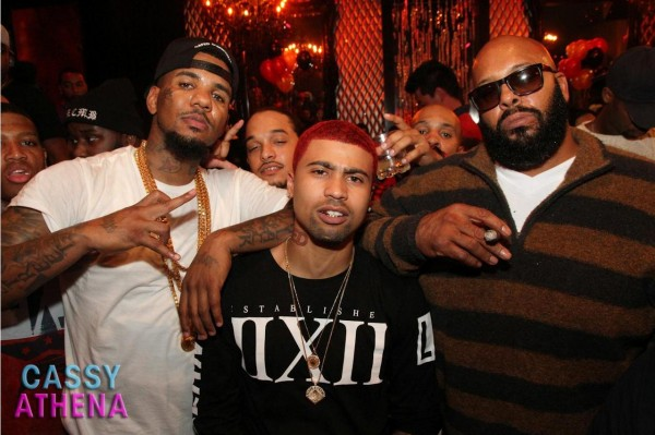 The Game, Kid Redd & Suge Knight