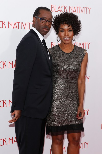 Angela Bassett & husband
