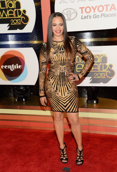 Faith Evans (she's lost weight...looks real nice)