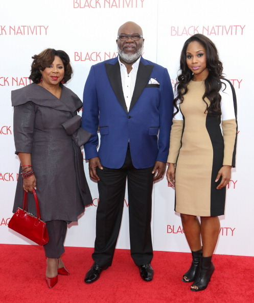 First Lady Serita Jakes, Bishop T.D. Jakes, & daughter Sara
