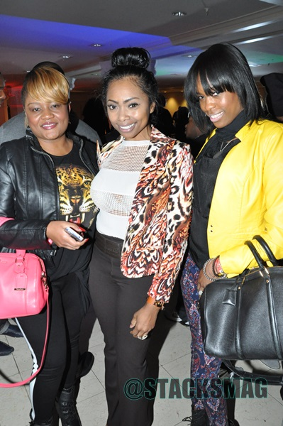 Ms. Bels (Stacks Mag), Kash Howard, & Kahalia Campbell (Major League Bar & Grill)