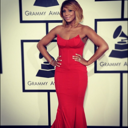 Tamar Braxton...I don't like the color red on her. Point blank period. And the hair was a little scruffy...
