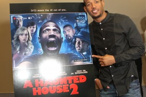 Marlon Wayans poses at ATL Press Reception