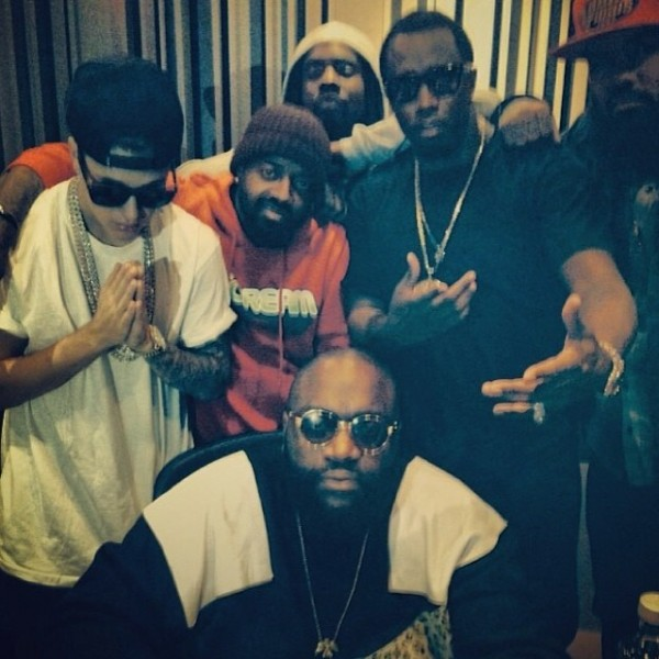 Your studio ain't fucking wit mine @justinbieber @richforever @wale @iamdiddy @stalley #somuchnewmusic @sosodef @global14 #Southside