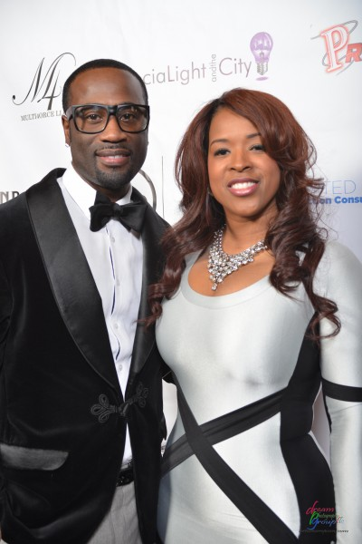 Q Parker & wife, Sharlinda