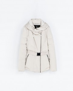 Quilted Anorak with Wraparaound Collar - $80 (Zara)
