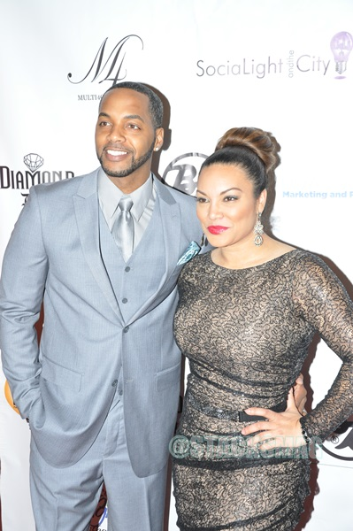 Egypt Sherrod & husband