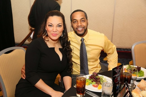 Egypt Sherrod (HGTV) and husband DJ Fadelf