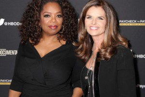 Oprah Winfrey & Maria Shriver (Photo by Paul Redmond/WireImage)
