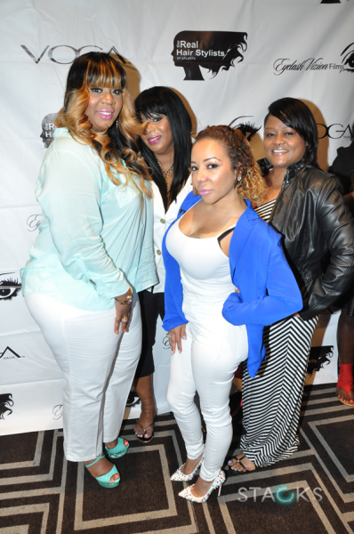 Mimi, Shante, Tiny & Ms. Bels (owner, STACKS Magazine)