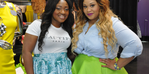 Quanyin Young, owner of SB Boutique & Nicci Houston, designer -Nicci Hou Collection