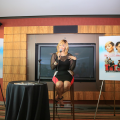 KeKe Wyatt addresses the press.