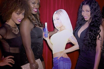 Nicki Minaj and guests are in the Myx.
