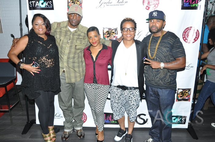 Ms Bels, Kevin Shine, Carla Saunders, Dice Dixon, & Fly Ty