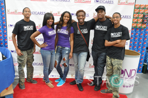 The Kandi Cares Foundation team