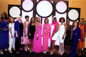 The honorees, co-founders, and presenters.