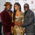 Stevie J, Joseline and Johnny Gill [photo by: @atlpics]