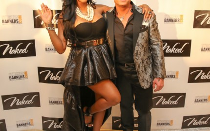 Porsha Williams @porsha4real and David Tutera @davidtutera [credit: chris mitchell]