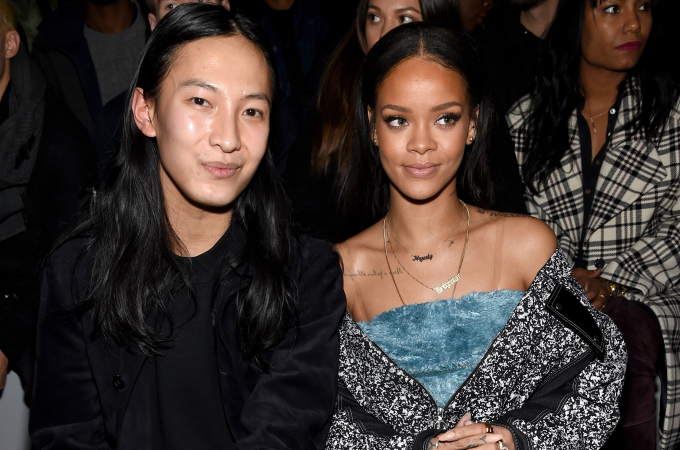 Alexander Wang and Rihanna. [Photo: Dimitrios Kambouris/Getty Images for adidas]