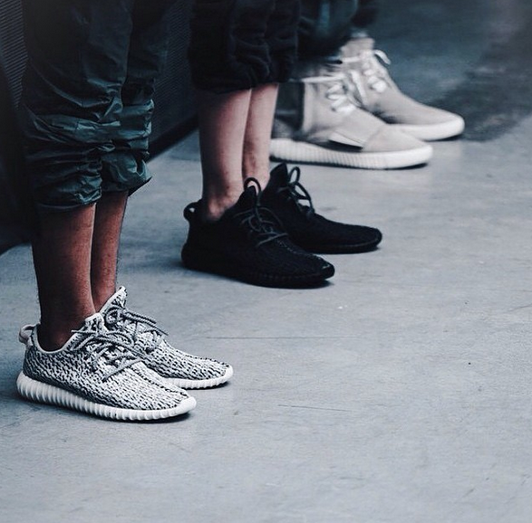 Ag West Supply >> Kanye West Receives A-List Support at Adidas Fashion Show ...