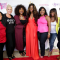 Photos are courtesy of RobinLori Photography. From left: Chef Tregaye, Real Talk Kim, Toni Acey, Christina Johnson, Brely Evans, Lakenya Morris, and Tierra Green.