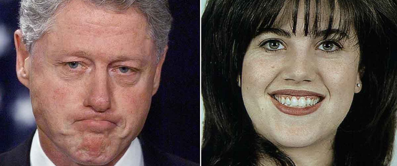 i have sinned bill clinton monica lewinsky impeachment Beyond impeachment: the penalties bill clinton monica lewinsky  was preparing to consider articles of impeachment — clinton agreed to pay $850,000.